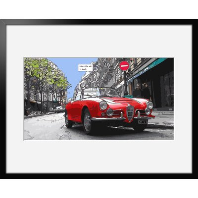 Atelier Contemporain Ti Amo by Philippe Matine Framed Graphic Art