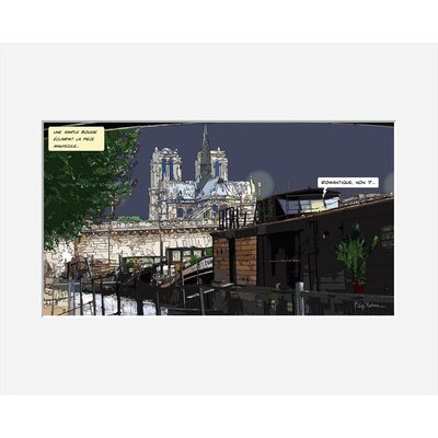 Atelier Contemporain Romantique by Philippe Matine Framed Graphic Art