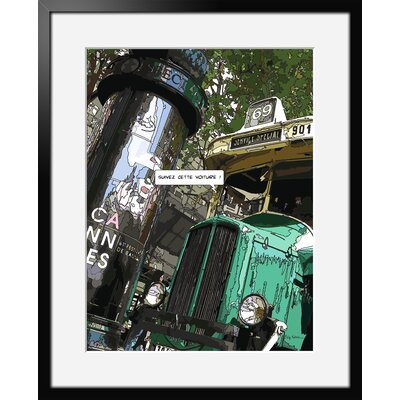 Atelier Contemporain Bus Morris by Philippe Matine Framed Graphic Art