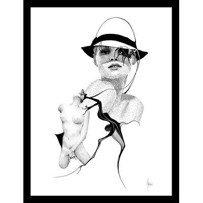 Atelier Contemporain Roxy by Rikke Jørgensen Framed Graphic Art