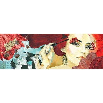 Atelier Contemporain Train Partial by Klassen Art Print on Canvas