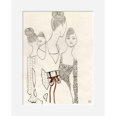 Atelier Contemporain Vernissage by Margot Van Huijkelom-Mace Art Print