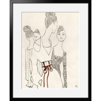 Atelier Contemporain Vernissage by Margot Van Huijkelom-Mace Framed Art Print