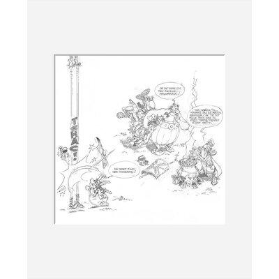 Atelier Contemporain La Potion Magique by Uderzo Art Print