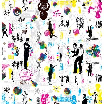 Atelier Contemporain Enter The Universe by Pal Design Graphic Art Wrapped on Canvas