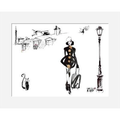 Atelier Contemporain Escale Parisienne by Burfitt Art Print