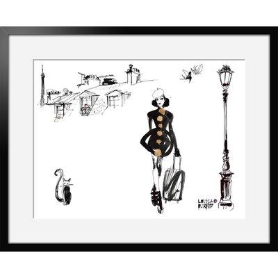Atelier Contemporain Escale Parisienne by Burfitt Framed Graphic Art