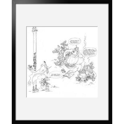 Atelier Contemporain La Potion Magique by Uderzo Framed Art Print