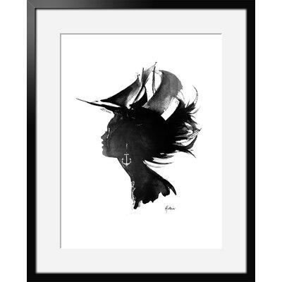 Atelier Contemporain Brest by Hossein Framed Art Print