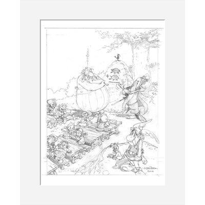 Atelier Contemporain La Rentree by Uderzo Art Print