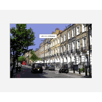 Atelier Contemporain London Life Print by Philippe Matine Framed Graphic Art