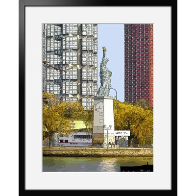 Atelier Contemporain Lost by Philippe Matine Framed Graphic Art