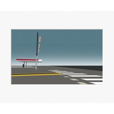 Atelier Contemporain Gas Station by Clément Dezelus Graphic Art