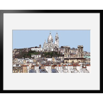 Atelier Contemporain Sacre Coeur by Philippe Matine Framed Graphic Art