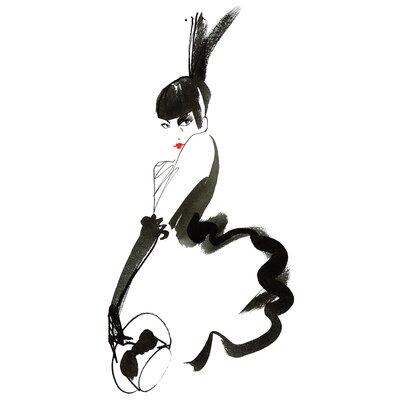 Atelier Contemporain Girl Cabaret by Burfitt Art Print on Canvas