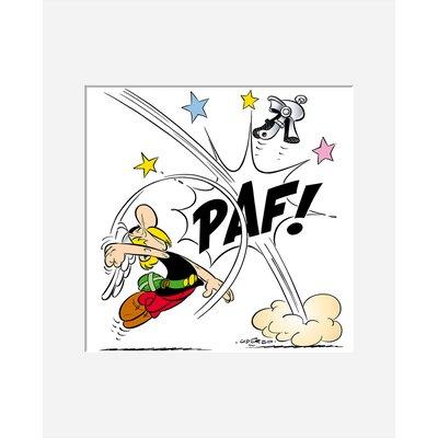 Atelier Contemporain Paf! Asterix by Uderzo Graphic Art