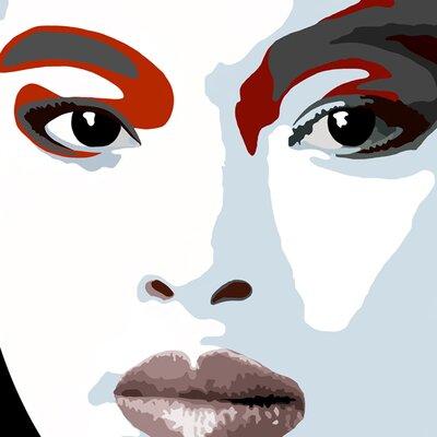 Atelier Contemporain Visage Du Monde 01 by Vidal Graphic Art on Canvas