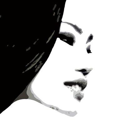 Atelier Contemporain Visage Du Monde 04 by Vidal Graphic Art on Canvas