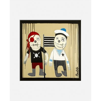 Atelier Contemporain Pirate Et Mousse by Paratilla Art Print