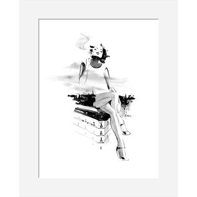 Atelier Contemporain Paris by Hossein Framed Art Print