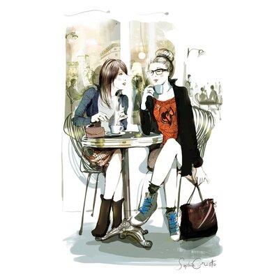 Atelier Contemporain Parisiennes by Sophie Griotto Art Print on Canvas
