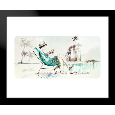 Atelier Contemporain Summer by Sophie Griotto Framed Graphic Art