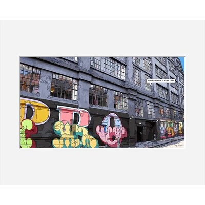 Atelier Contemporain Propro by Philippe Matine Framed Graphic Art