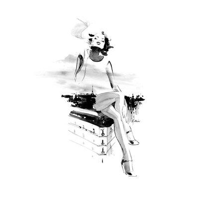 Atelier Contemporain Paris by Hossein Graphic Art on Canvas