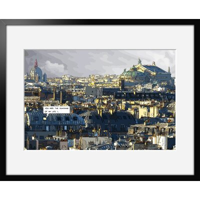 Atelier Contemporain Sunshine by Philippe Matine Framed Graphic Art