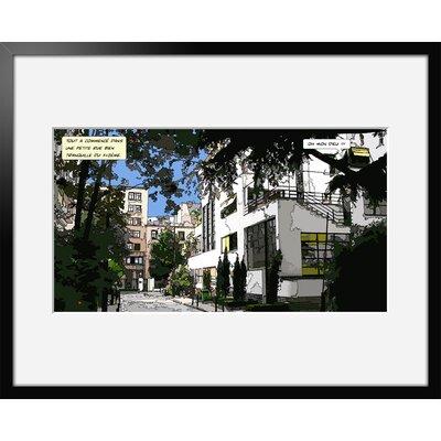 Atelier Contemporain Mallet Stevens by Philippe Matine Framed Graphic Art