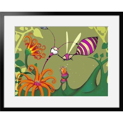 Atelier Contemporain Univers De L'Enfant 07 by Vidal Framed Graphic Art