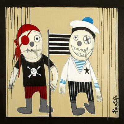 Atelier Contemporain Pirate Et Mousse by Paratilla Art Print on Canvas