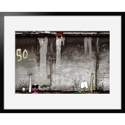 Atelier Contemporain Urban Wall by Ds Kamala Framed Graphic Art
