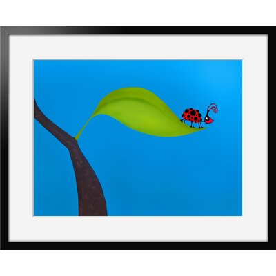 Atelier Contemporain Univers De L'Enfant 09 by Vidal Framed Graphic Art