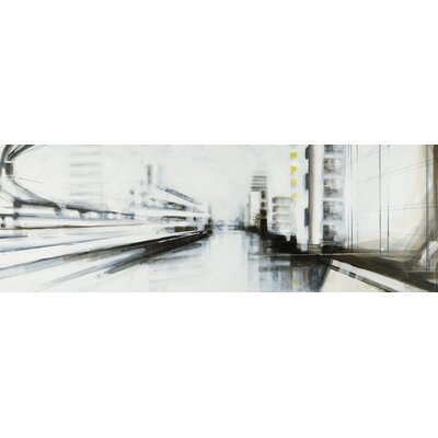 Atelier Contemporain Convergences by Mergault Graphic Art on Canvas