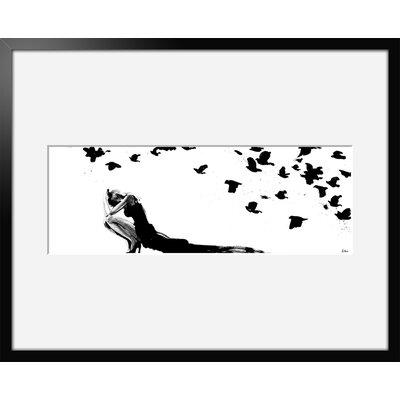 Atelier Contemporain Vacarme by Hossein Framed Art Print