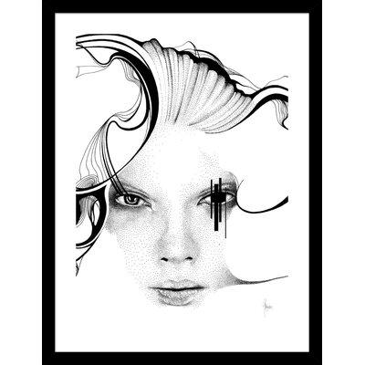 Atelier Contemporain Bristol Black by Rikke Jørgensen Framed Graphic Art