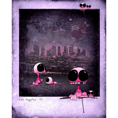 Atelier Contemporain Bubble by Ds Kamala Graphic Art on Canvas
