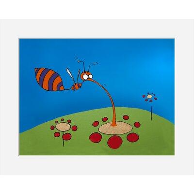 Atelier Contemporain Univers De L'Enfant 01 by Vidal Framed Graphic Art