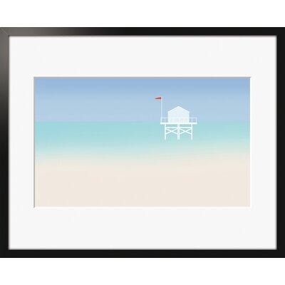 Atelier Contemporain Miami by Clément Dezelus Framed Graphic Art
