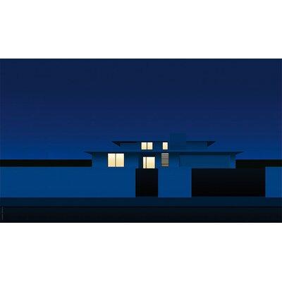 Atelier Contemporain Suburban Night by Clément Dezelus Graphic Art on Canvas