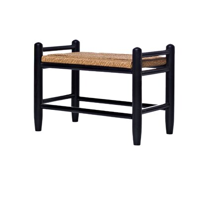 Spencer Accent Stool Color: Black