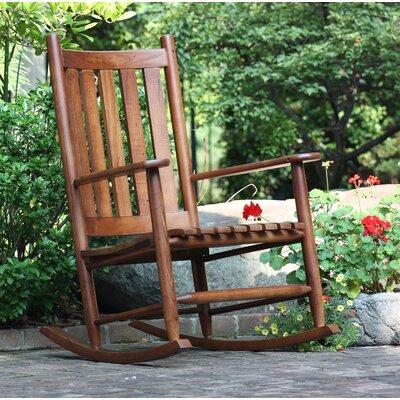 Rocking Chair Frame Color: WoodLeaf Hickory