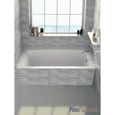 """Alcove 32"""" x 60"""" Bathtub Drain Location: Right"""