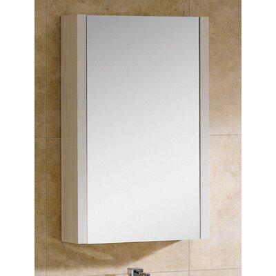 "Modena 21.63"" x 31.5"" Surface Mount Medicine Cabinet Color: Off-White Grain"