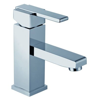 Contemporary Squared Single Hole Vessel Lever Bathroom Faucet Finish: Polished Chrome
