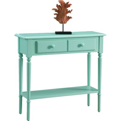 Coastal Notions Console Table Color: Kiwi Green