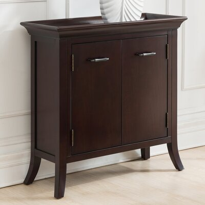 Clermont Tray Edge 2 Door Accent Cabinet