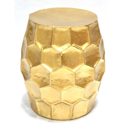 Accent Stool Finish: Gold