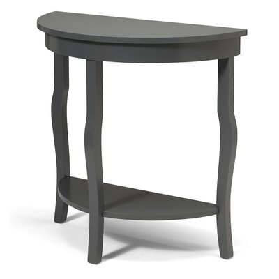 "Danby Console Table Size: 30"" H x 14"" W x 30"" D, Color: Navy Blue"